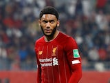 Liverpool defender Joe Gomez in action in December 2019