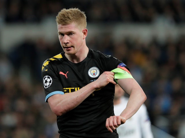 De Bruyne open to season being cancelled