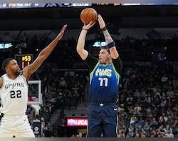 NBA roundup: Luka Doncic stars as Dallas Mavericks down San Antonio Spurs