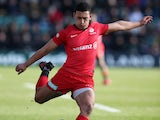 Manu Vunipola converts for Saracens on February 29, 2020