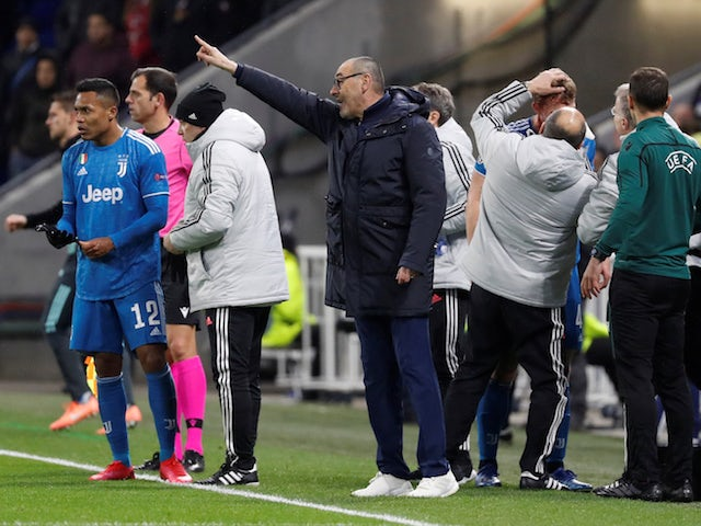 Maurizio Sarri at a loss to explain Juventus defeat in Lyon