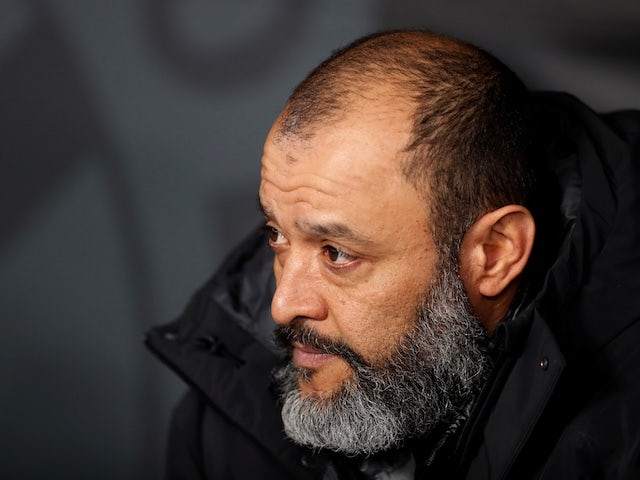 Wolverhampton Wanderers manager Nuno Espirito Santo before the match on February 27, 2020