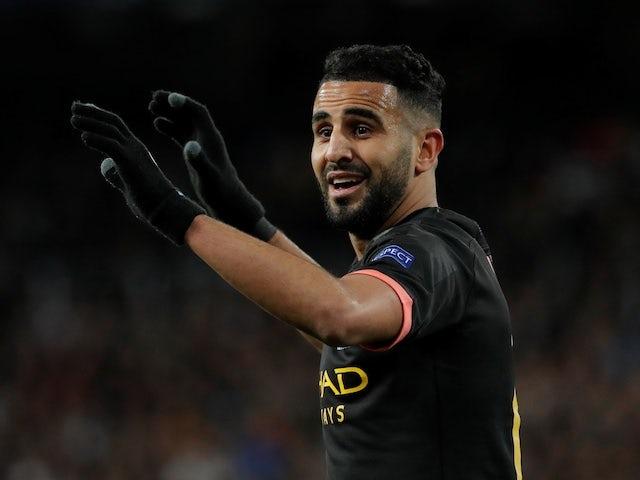 Man City put £80m price tag on Riyad Mahrez?