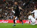 Manchester City's Gabriel Jesus celebrates scoring their first goal on February 26, 2020
