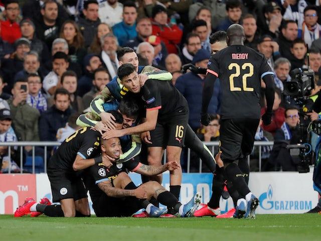 Famous Bernabeu comeback sees Man City outshine Premier League rivals in Europe