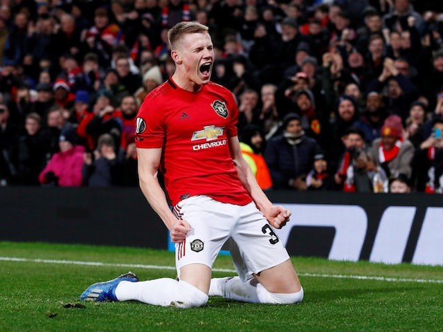 Solskjaer 'considers McTominay first-choice defensive midfielder'