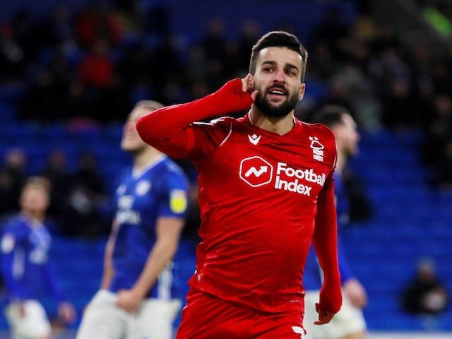Result: Nottingham Forest beat Cardiff to close gap on Leeds