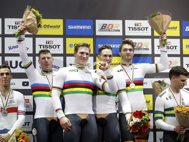 Result: British trio settle for silver at UCI Track Cycling World Championships