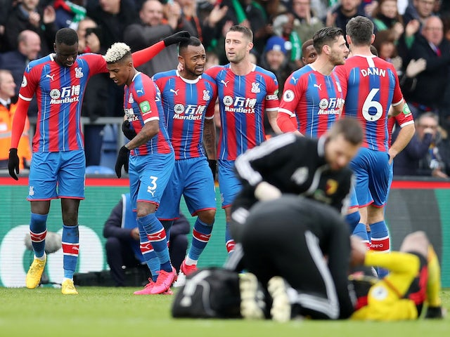 Result: Jordan Ayew fires Crystal Palace to brink of safety