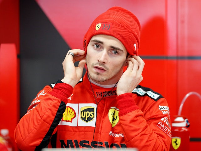 Charles Leclerc apologises to Sebastian Vettel for collision