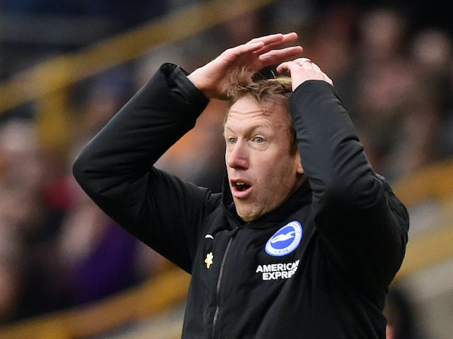 Brighton boss Potter praises mental strength of squad after shutdown