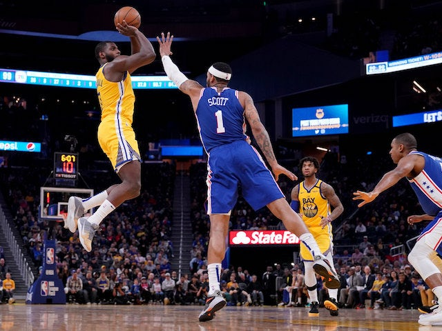 NBA roundup: Steph Curry misses out as Golden State Warriors shock 76ers