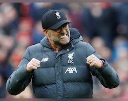 Liverpool set to shatter Premier League record due to coronavirus shutdown
