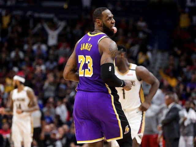 NBA roundup: Lakers beat Pelicans as LeBron James and Zion Williamson face off