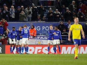 Late Ricardo Pereira goal sends Leicester into FA Cup quarter-finals