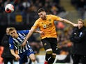 The mighty Matt Doherty in action for Wolves on March 7, 2020
