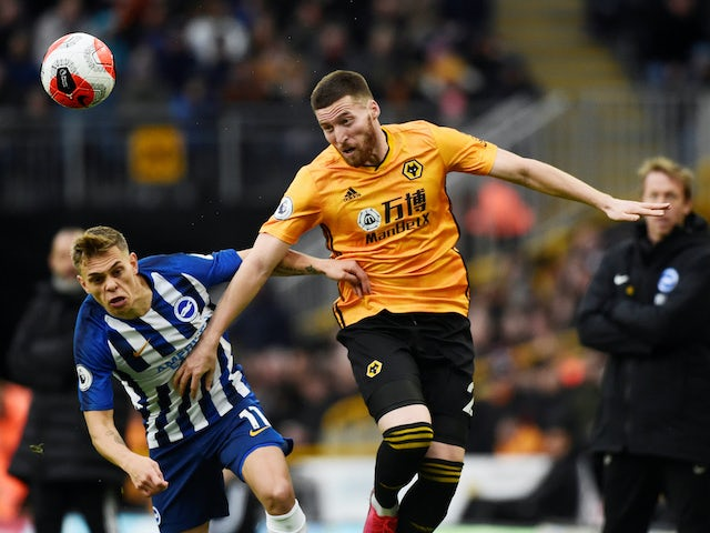Matt Doherty: 'Wolves' position in table not a huge shock to us'