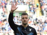Lazio's Sergej Milinkovic-Savic pictured in February 2020