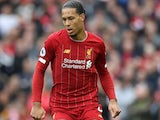 Virgil van Dijk in action for Liverpool on March 7, 2020