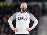 Derby County's Wayne Rooney pictured on March 5, 2020