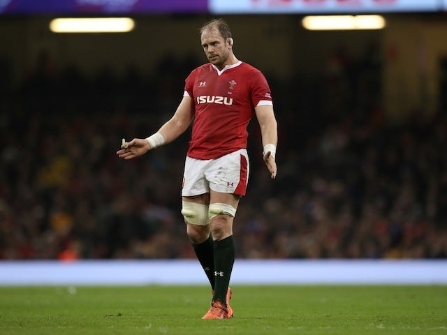 Alun Wyn Jones out for