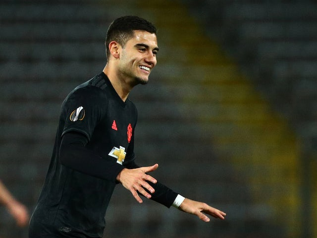 Andreas Pereira 'open to leaving Man United this summer'
