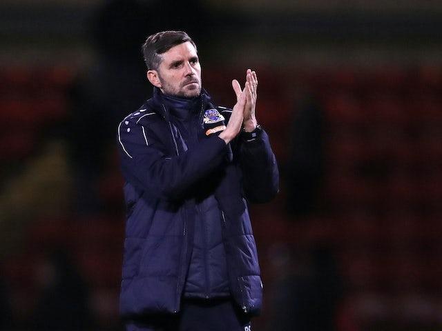 Eastleigh boss Ben Strevens pictured in December 2019