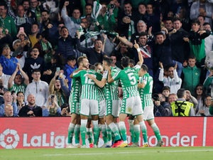 Real Madrid suffer shock defeat at Real Betis