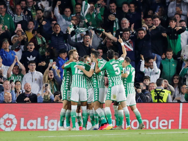 European roundup: Real Betis dent Real Madrid's title hopes