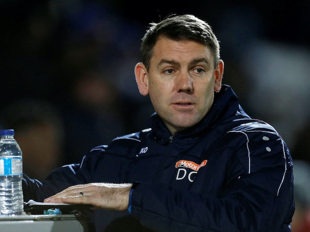 Hartlepool boss Dave Challinor gave players option to play at Sutton