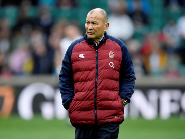 Coronavirus latest: England boss Eddie Jones agrees to take 25% pay cut