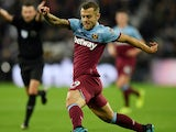 Jack Wilshere in action for West Ham on October 5, 2019