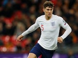 John Stones in action for England in November 2019