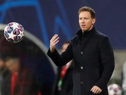 RB Leipzig coach Julian Nagelsmann on March 10, 2020