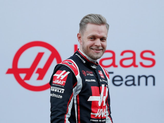 Atmosphere 'relaxed' after Haas news - Magnussen