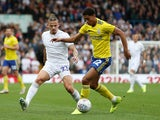 Birmingham City midfielder Jude Bellingham in action against Leeds United in October 2019