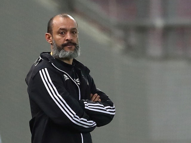 Wolverhampton Wanderers manager Nuno Espirito Santo pictured on March 12, 2020