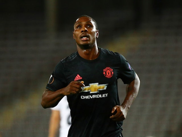 Ighalo refuses to discuss Man United future