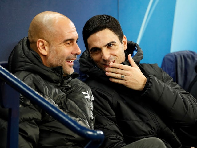 Mikel Arteta not looking to replicate Pep Guardiola philosophy ahead of reunion
