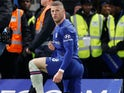 Ross Barkley in action for Chelsea on March 3, 2020