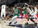 Boston Celtics forward Semi Ojeleye in action on March 10, 2020