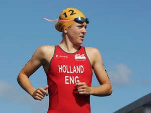 Britain's Vicky Holland wins Mooloolaba World Cup in Australia