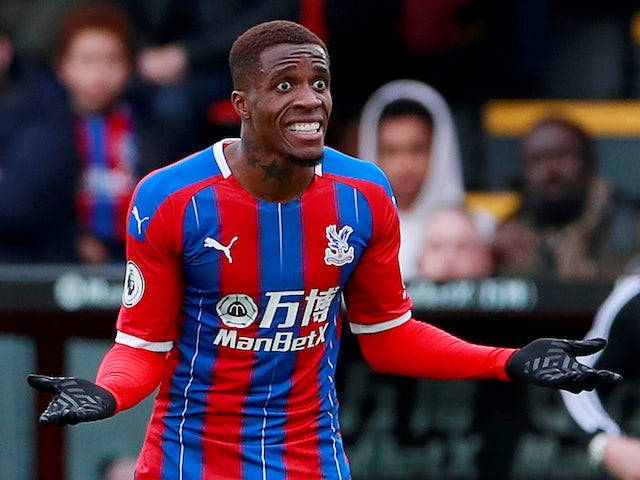 Hodgson: 'It would be a sad day if I rested Zaha over racist abuse'