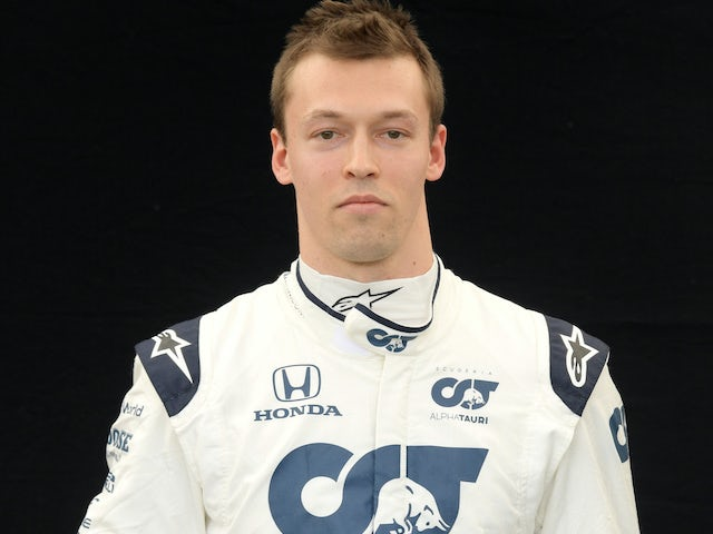 Daniil Kvyat pictured on March 12, 2020