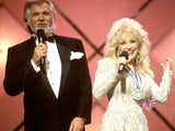 Dolly Parton and Kenny Rogers in the video for 'Islands in the Stream'