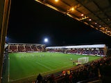 General view of Dunfermline Athletic's East End Park