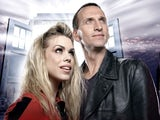Billie Piper and Christopher Ecclestone in Doctor Who
