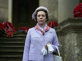 Olivia Colman stars as Queen Elizabeth II in season three of The Crown
