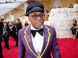 Spike Lee pictured at the Oscars on February 9, 2020
