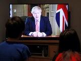 Boris Johnson addresses the nation on March 23, 2020